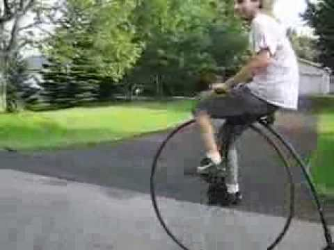 """Penny Farthing Ordinary Antique  Bicycle Custom Homemade 45"""" Wheel"""