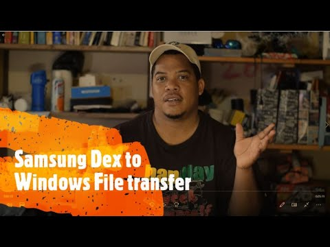 File Transfer From Android To Windows Using Samsung Dex