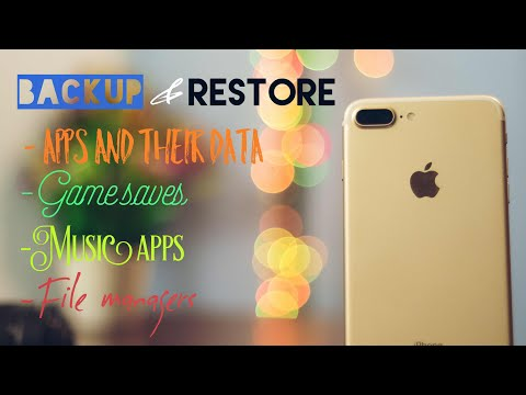 Backup ios apps and games including data without iTunes | no jailbreak!