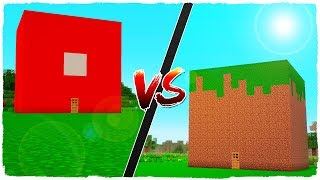 🤘 MINECRAFT - CASA DE ROBLOX VS CASA DE MINECRAFT