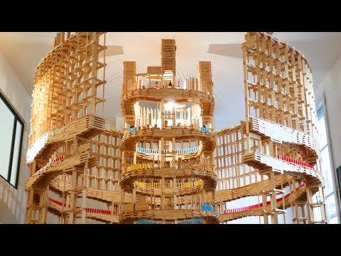 The SPECTACULAR Kapla Colosseum! (w/ Kaplamino & Benjamin Crouzier)