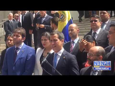 Con la visita de Bachelet a la AN fuerzas del régimen no impidieron el acceso a medios y diputados