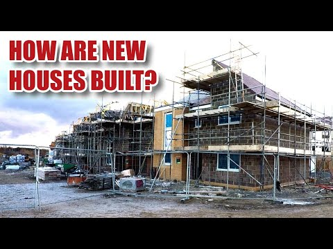How Are UK Houses Built? New Builds In the UK in 2018... Externals (Part 1)