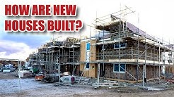 How Are UK HOUSES Built? New Builds In the UK in 2018. Externals (Part 1) [87]