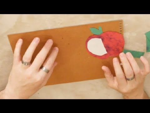 Hands On Crafts For Kids On Johnny Appleseed Crafts For Kids Youtube