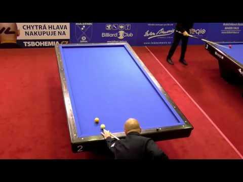 EC Classic teams 2016 Prague - Semifinal De Bruijn vs. Zenkner 1-cushion
