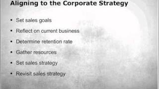 Using A Strategic Plan To Build A Sales Strategy