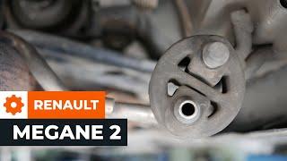 Kaip ir kada reikia keisti gale kairė dešinė Stabdziu Apkabos Laikiklis RENAULT MEGANE II Coupé-Cabriolet (EM0/1_): videopamokos