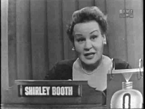 What's My Line?  Shirley Booth May 3, 1953