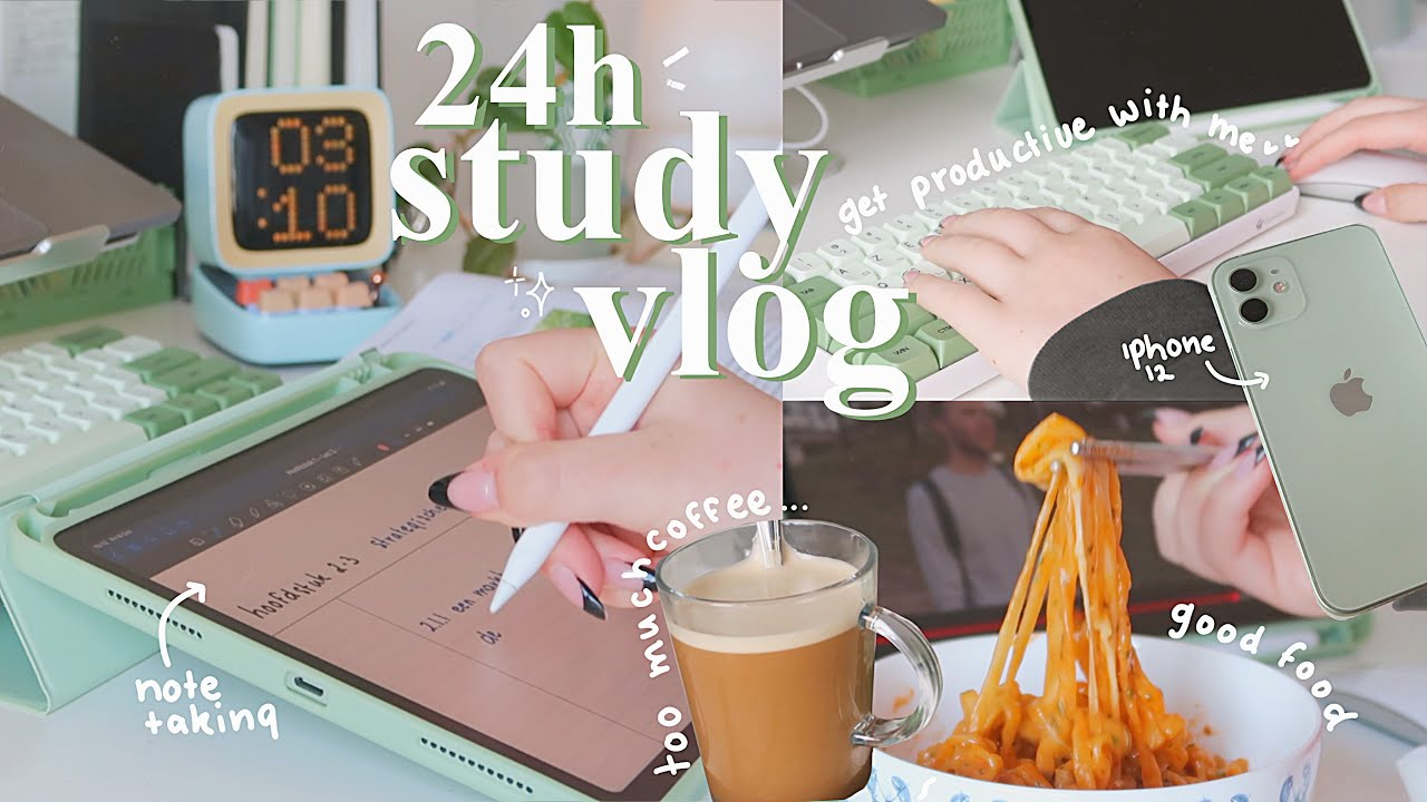 study vlog | new iPhone 12, studying, lectures, stationery haul, good food + big giveaway!