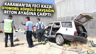Karaman-Mersin Karayolunda Trafik Kazası; 2 Ölü, 4 Yaralı