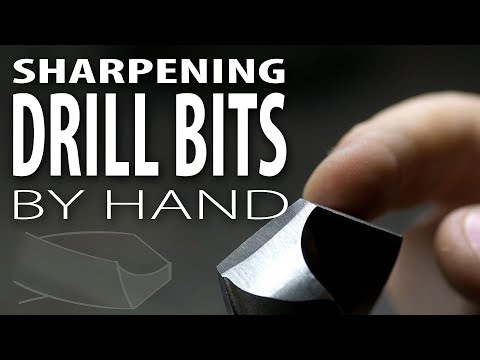 Sharpening Drill Bits - The Long Way Round