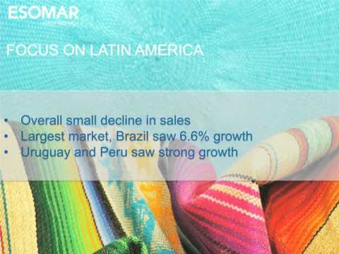 ESOMAR GLOBAL INDUSTRY OVERVIEW WEBINAR