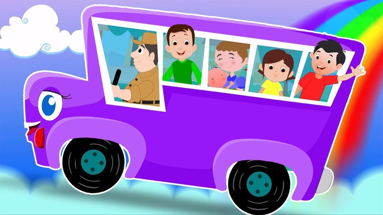 Rodas No Onibus Desenho Animado Desenho Infantil Video Para