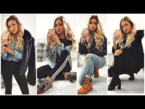 WINTER OUTFITS OF THE WEEK 2018 / LOOKBOOK