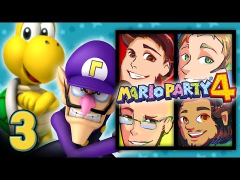 """Mario Party 4: """"World's Worst Hotel"""" - EPISODE 3 - Friends Without Benefits"""