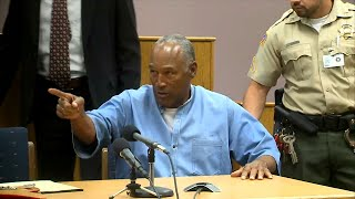 What You Didn't See O.J. Simpson Do Following Parole Board Decision