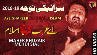 Aey Ghareeb E Karabala Asalam || Maher Khuzair Mehdi Siyal || New Noha || TP Moharram