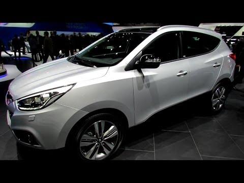 2014 Hyundai ix35 Diesel 4WD Exterior and Interior Walkaround 2014 Geneva Motor Show
