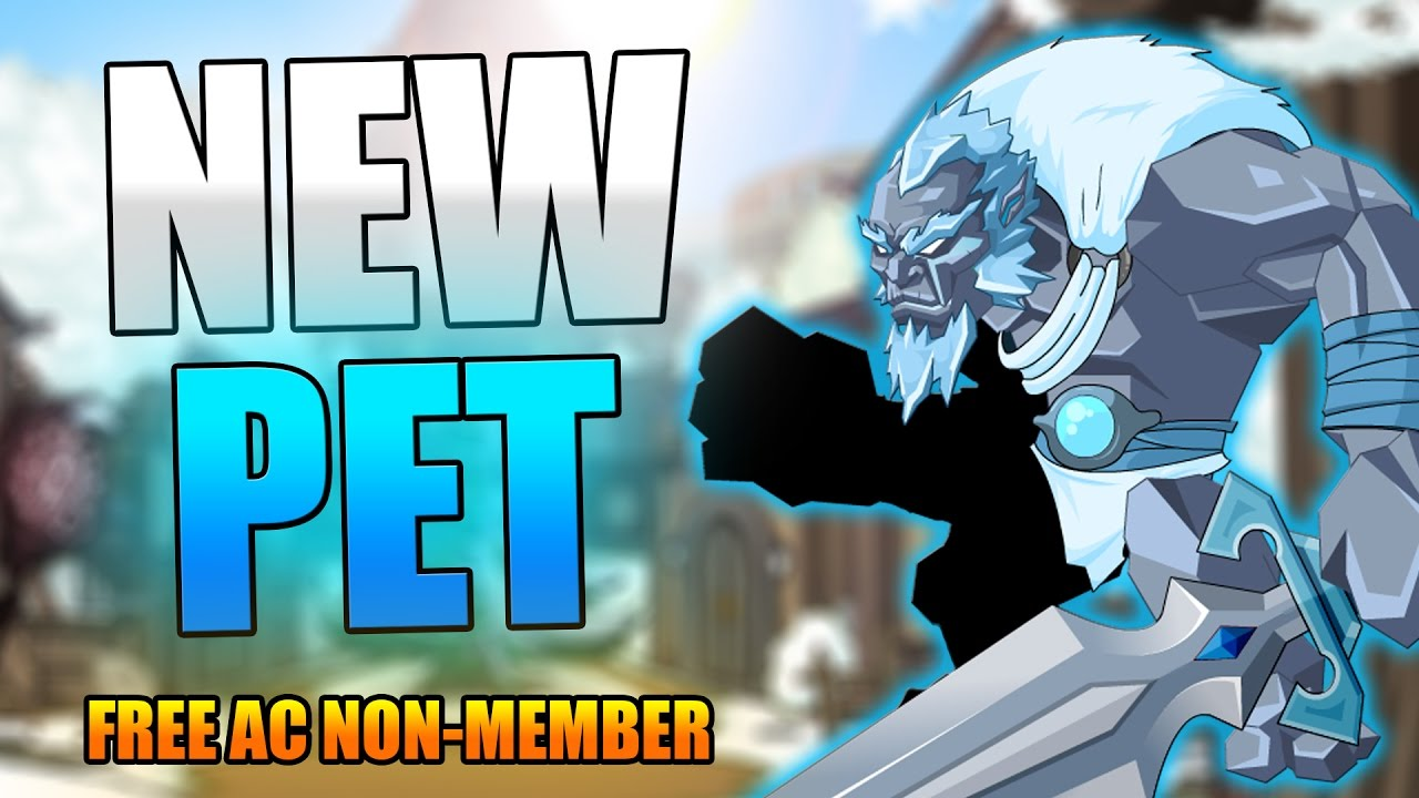 New 72 Hour Rare Free Non Mem Ac Pet Aqw Adventurequest Worlds Youtube