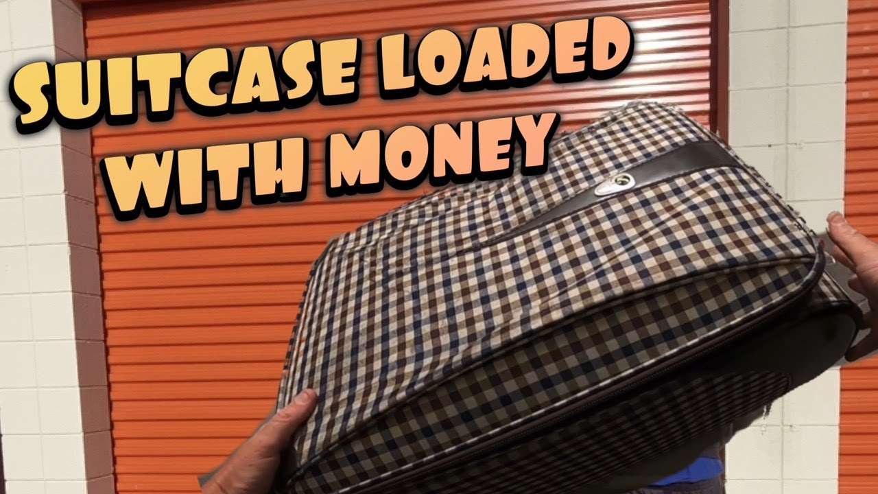FOUND SUITCASE LOADED WITH MONEY in abandoned storage wars auction !