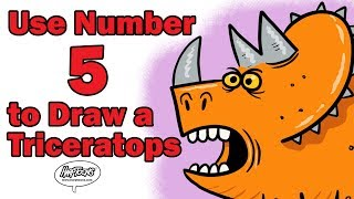 Learn How to Draw a Triceratops