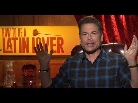 Rob Lowe: 'I am Naked. Who Cares?' HOW TO BE A LATIN LOVER Interview