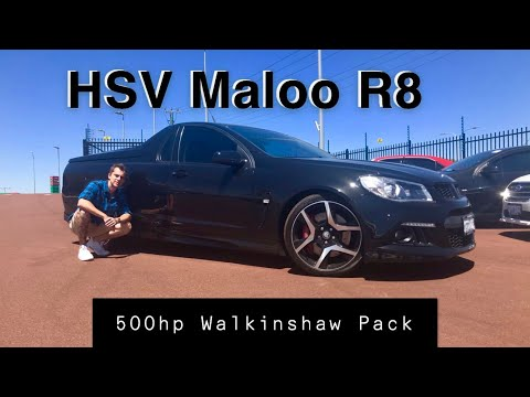 The Australian Maloo Ute with 500+HP! Worlds Fastest Commercial Vehicle!