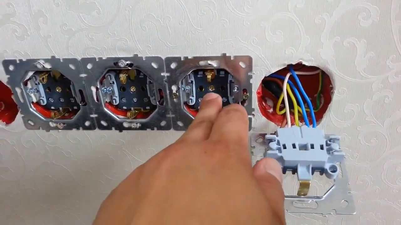 fd239ca7d18d Мастер-класс А.Горшунова  Блок розеток- правильное подключение. - YouTube