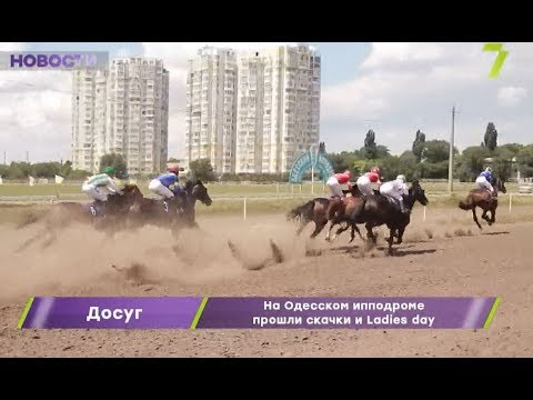 Новости 7 канал Одесса: На Одесском ипподроме прошли скачки и Ladies day