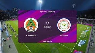 PES 2020   Alanyaspor vs Rizespor - Turkey Super Lig   20 October 2019   Full Gameplay HD