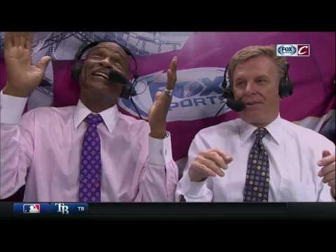Austin Carr thanks the basketball gods after Cavs