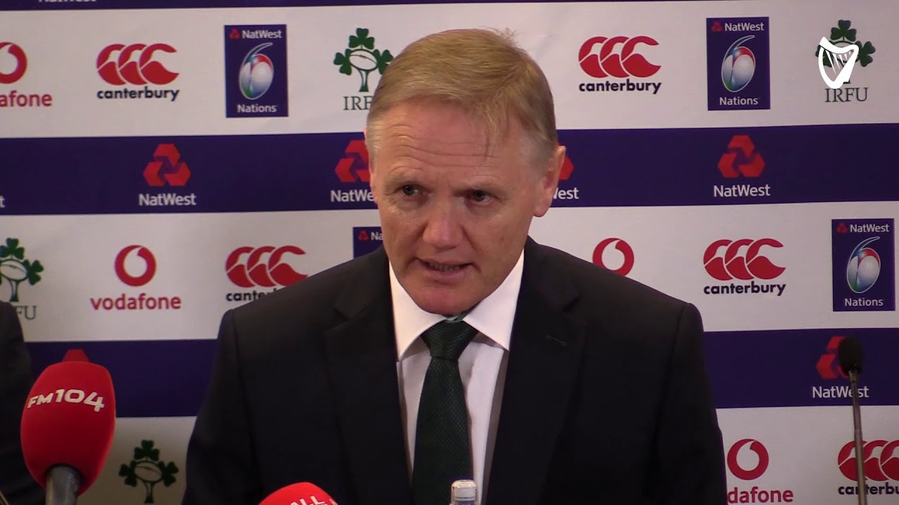 VIDEO: Joe Schmidt delivers injury update as Ireland boss ...