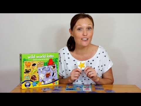 Orchard Toys: WILD WORLD LOTTO SEA ANIMALS - play with Hayley!