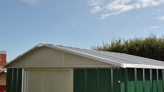 Yardmaster Metal Shed Instructions Part 2 Roof Assembly