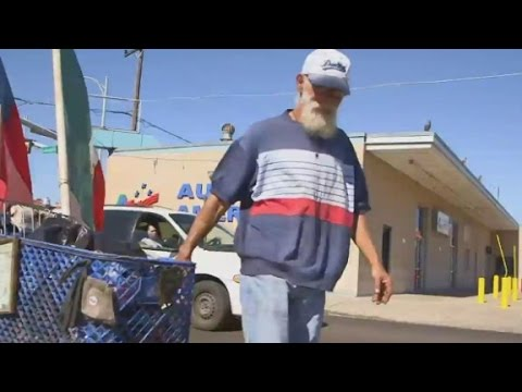 Why he moved to an empty border town