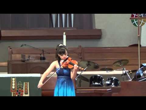E. Ysaye: Sonata No. 4 for Solo Violin - Annelle K. Gregory, violin