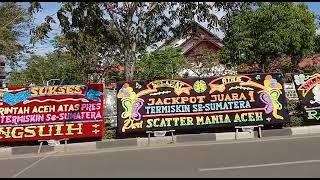 VIRALLL… PULUHAN PAPAN BUNGA BERTULISKAN ACEH PERINGKAT TERMISKIN DI SUMATRA , BENARKAH!!!