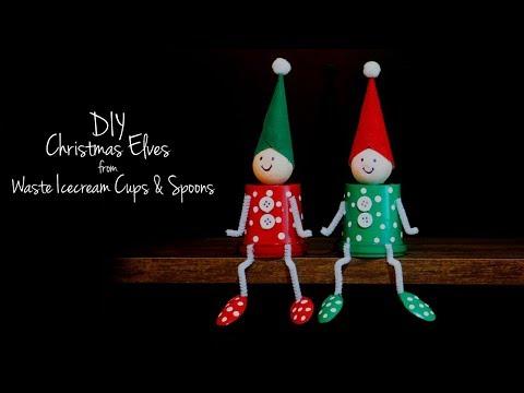 DIY Christmas Decorations 2018 | The Elf on the Shelf | Santa's Elves for Christmas