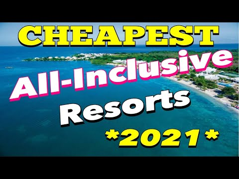 Top 10 CHEAPEST All-inclusive Resorts *2021*