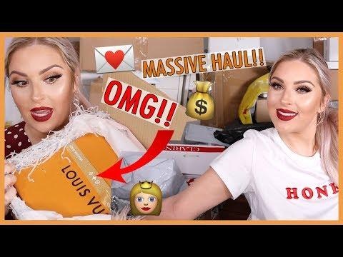 PR UNBOXING HAUL 🤑 Louis Vuitton, NEW Makeup & More!