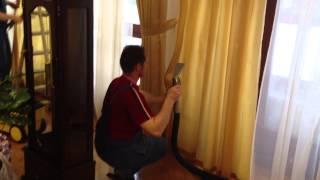 видео химчистка штор