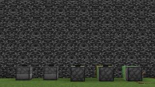 【検証】岩盤くぐり抜けられるのはどれ?【Minecraft】#shorts