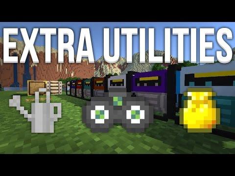 Extra Utilities (1.7) - Des items utiles ! | Présentation - Fuzemod