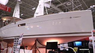 2016 Jeanneau Sun Odyssey 349 Sailing Yacht - Deck and Interior Walkaround - 2016 Toronto Boat Show
