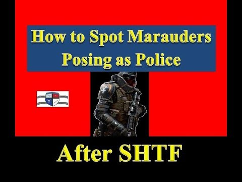 Criminals Posing as Police After SHTF and How to Spot Them