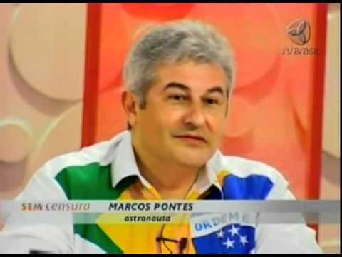 Leda Nagle entrevista o astronauta brasileiro Marcos Pontes - parte 2 de 3