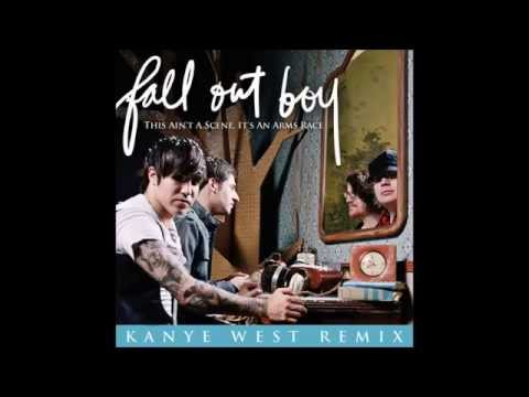 Fall Out Boy ft. Kanye West - 'This Ain't A Scene, It's An Arms Race' (Oficial Remix)