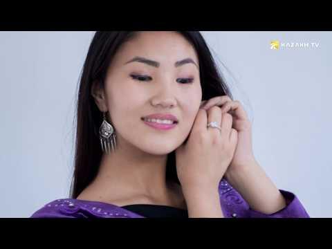 Национальные костюмы казахов, кыргызов, азербайджанцев (кырг)