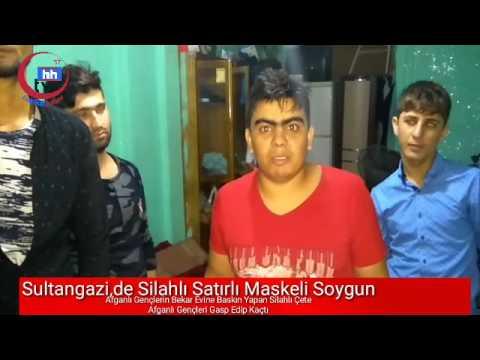 sultangazide maskeli silahlı palalı soygun